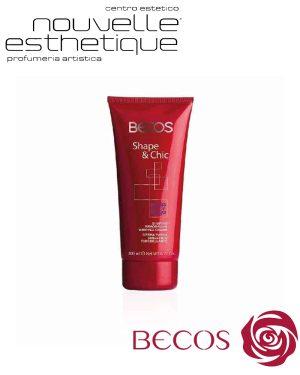 BECOS SHAPE & CHIC CREMA PANNA SNELLENTE RIMODELLANTE 200ML cosmesi trattamento per il viso corpo BV037