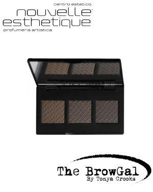 THE BROWGAL CONVERTIBLE BROW POWDER POMADE DUO DARK 01 Make up Occhi BGCONV01