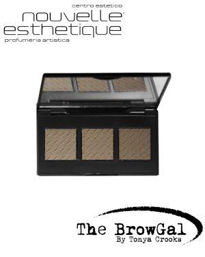 THE BROWGAL CONVERTIBLE BROW POWDER POMADE DUO LIGHT 03Make up Occhi BGCONV03