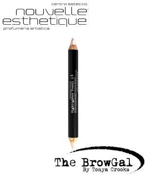 THE BROWGAL HIGHLIGHTER PENCIL 01 CHERUB CHAMPAGNE MATITA Make up Occhi BGHP01 123