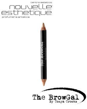 THE BROWGAL HIGHLIGHTER PENCIL 02 NUDE GOLD MATITA Make up Occhi BGHP02