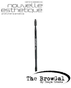 The BrowGal Eyebrow Dual Ended Brush SOPRACCIGLIA Make Up Occhi Trucchi BGBRSH01