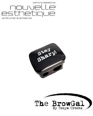 The BrowGal PencilHighlighter Sharpener Temperamatita SOPRACCIGLIA Make Up Occhi Trucchi BGSTP Accessori