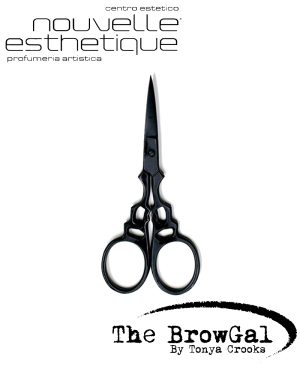 The BrowGal Scissors Design Forbici SOPRACCIGLIA Make Up Occhi Trucchi BGSF Accessori