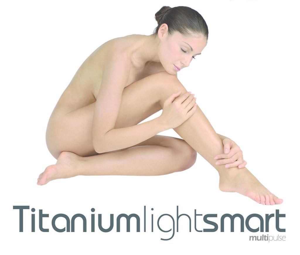 photoepilazione luce pulsata tls titanium light smart