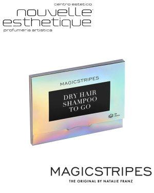 MAGICSTRIPES DRY HAIR SHAMPOO TO GO 50 FOGLI SHEETS SHAMPOO SECCO Trattamento MANI bellezza cosmesi MS019