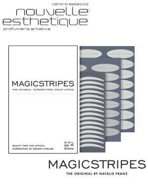 MAGICSTRIPES EYELID LIFTING SMALL PALPEBRA SOLLEVAMENTO STRIPES 64 STRISCE Trattamento MANI bellezza cosmesi MS008