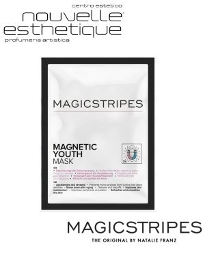 MAGICSTRIPES MAGNETIC YOUTH MASK UNA MASCHERA VISO SINGOLA Trattamento MANI bellezza cosmesi MS018