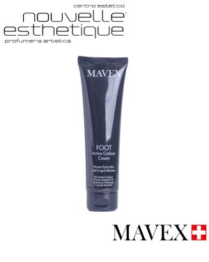 MAVEX CREMA PIEDI CARBONI ATTIVI cura professionale per i tuoi piedi pedicure trattamenti manicure MA005